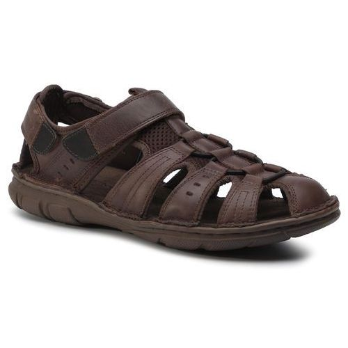 Sandały - mi08-c271-320-13 chocolate brown marki Lasocki for men