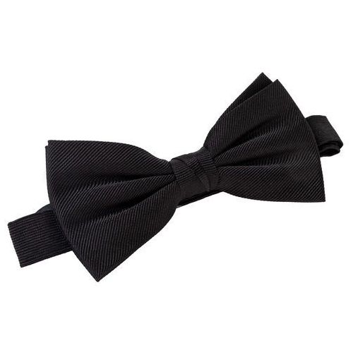 Tommy hilfiger tailored Mucha - silk solid bowtie tt0tt05811 bas