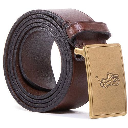 Pasek Męski POLO RALPH LAUREN - 36Mm Pp Plaque Belt 405691693002 Brown