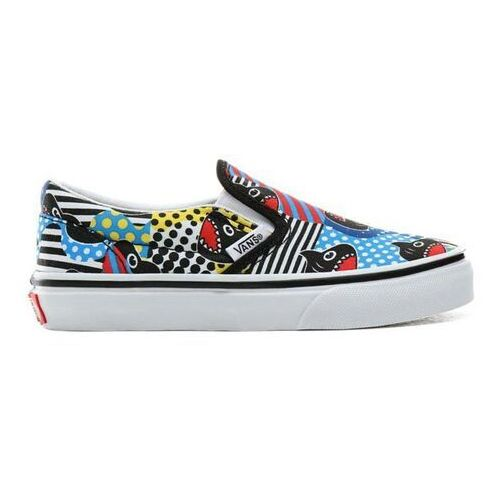 Buty - classic slip-on (shark week)phin/true wht (v9d) marki Vans