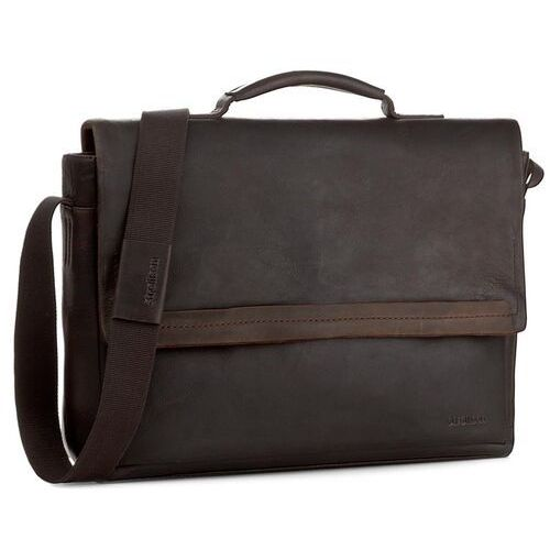 Torba na laptopa STRELLSON - Camden 4010002282 Dark Brown 702
