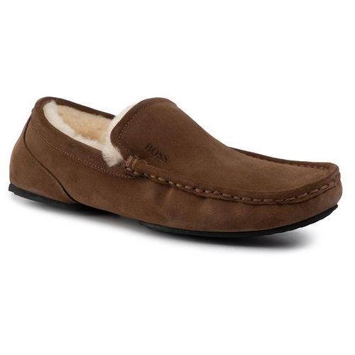 Kapcie - relax 50423231 10223624 01 medium brown 210, Boss, 40-44