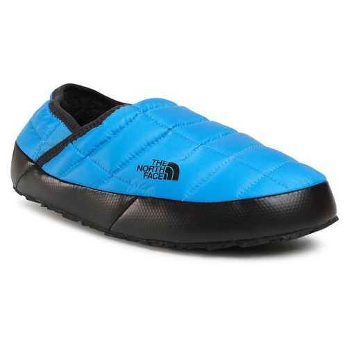 Kapcie THE NORTH FACE - Thermoball Traction Mule V NF0A3UZNME91 Clear Lake Blue/Tnf Black, kolor niebieski