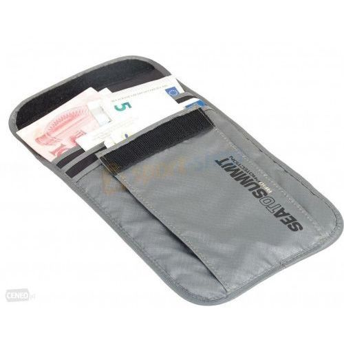 Sea to summit Saszetka antykradzieżowa travelling light neck pouch rfid l (9327868046522)