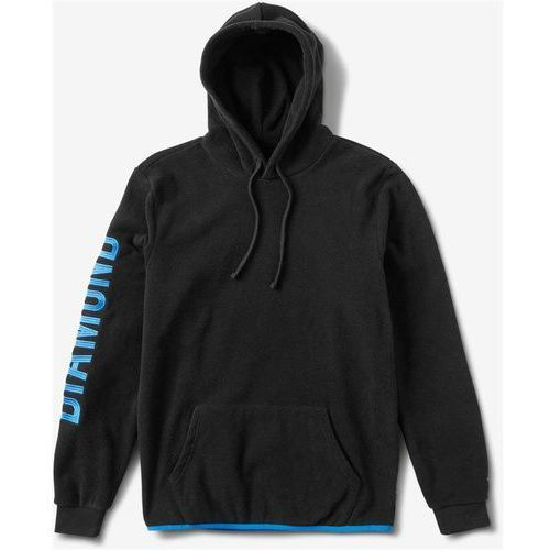 Diamond Bluza - diamond polar fleece hoodie black (blk) rozmiar: l