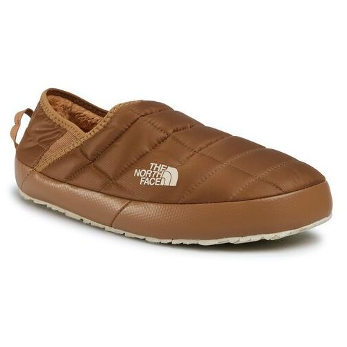 Kapcie THE NORTH FACE - Thermoball Traction Mule V NF0A3UZNVDN UtilityBrown/Bleched Sand, kolor brązowy