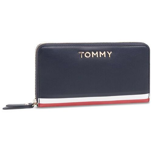 Duży Portfel Damski TOMMY HILFIGER - Th Corporate Lrg Za Wallet AW0AW07736 CJM