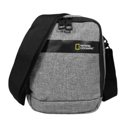 National geographic stream torba na ramię / saszetka / n13102 szara - light grey