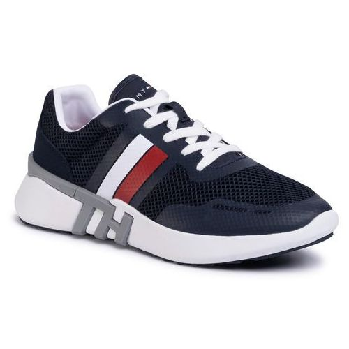 Sneakersy - lightweight corporate th runner fm0fm02661 desert sky dw5, Tommy hilfiger, 40-45