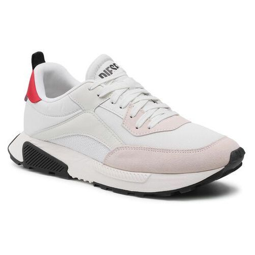 Sneakersy DIESEL - S-Tyche Low Cut Y02635 P4198 H8730 Star White/Racing Red, w 7 rozmiarach