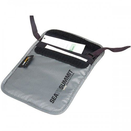 Sea to summit Saszetka antykradzieżowa travelling light neck pouch rfid s (9327868046515)