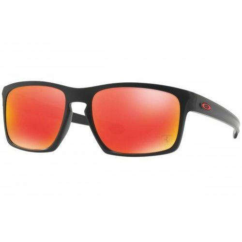 Oakley Okulary sliver ferrari collection matte black ruby iridium oo9262-12
