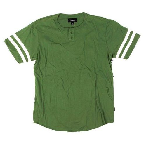 koszula BRIXTON - Fairfield Henley Kelly Green (KLGRN), kolor zielony