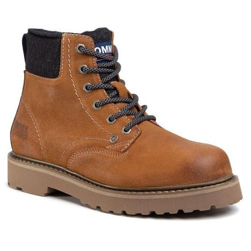 Trapery TOMMY JEANS - Lace Up Mens Tommy Jeans Boot EM0EM00534 Texas Plains KBT, w 6 rozmiarach