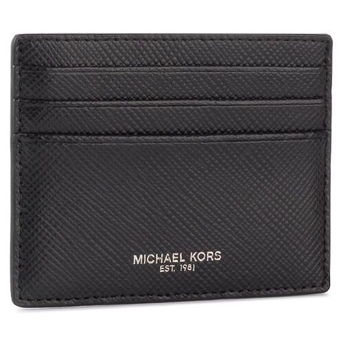 Etui na karty kredytowe MICHAEL MICHAEL KORS - Tall Card Case 39F6LHRD2L Black