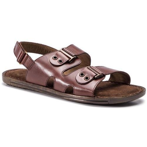Sandały LASOCKI FOR MEN - MB-SUMMERTIME-02 Chocolate Brown