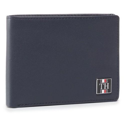 Duży Portfel Męski TOMMY HILFIGER - Plaque Pop Extra Cc And Coin AM0AM06014 0GY