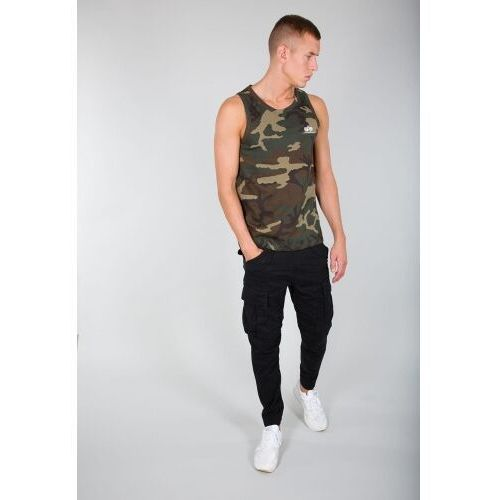 t-shirt small logo tank, Alpha industries