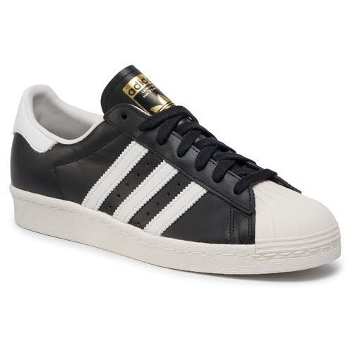Buty - superstar 80s g61069 black1/wht/chalk2, Adidas