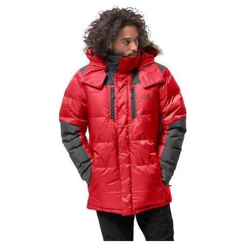 Męska parka puchowa THE COOK PARKA red lacquer - M (4060477279152)