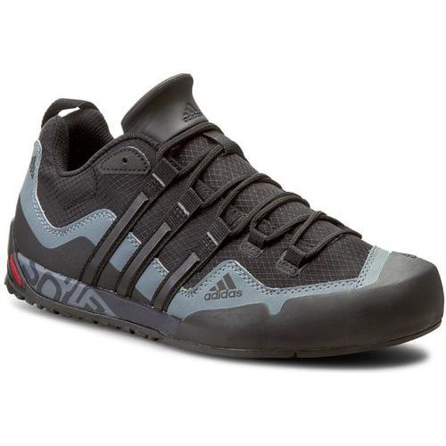 Buty adidas - Terrex Swift Solo D67031 Black1/Black1/Lead, kolor czarny