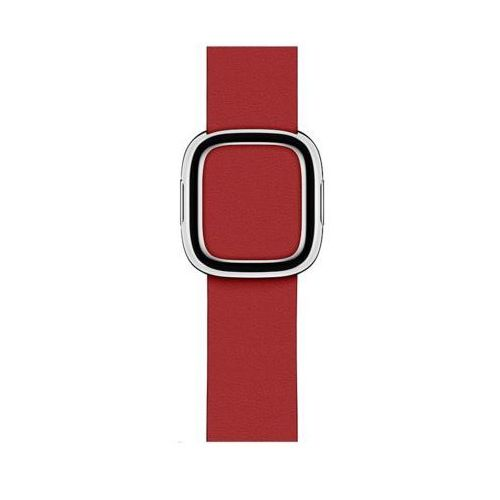 Pasek APPLE do Apple Watch (38/40 mm) Rubinowy, kolor czerwony